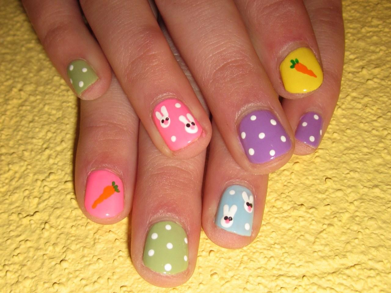 Фото легких рисунков на маленьких ногтях